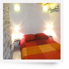 Bedroom of Cottage in La Malene (France)