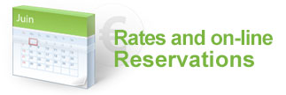 Rates and on-line reservations